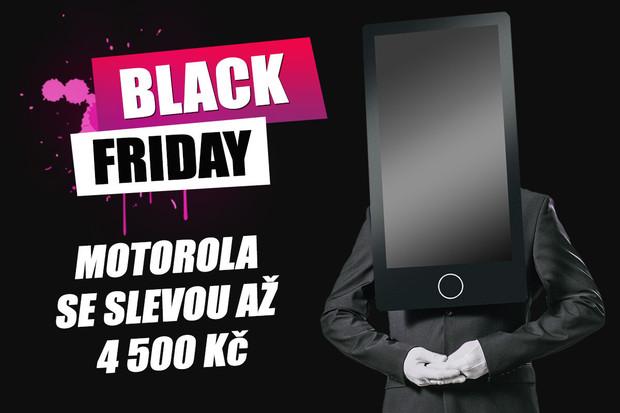 Motorola na Black Friday nabízí vybavené smartphony za neskutečné ceny