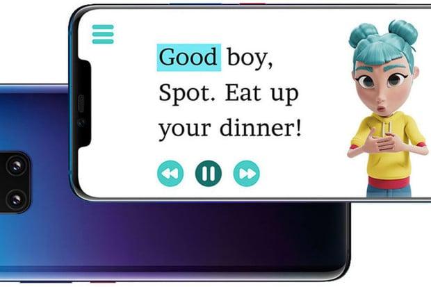 Jak využít AI aneb umělá inteligence od Huawei pomáhá číst neslyšícím dětem