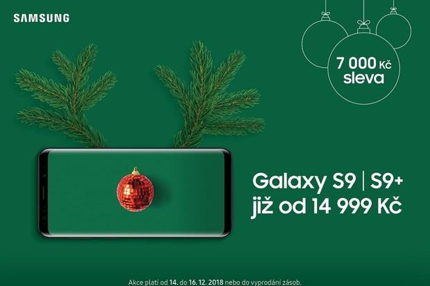 Tento víkend nabízí Samsung slevu až 7 000 Kč na Galaxy S9 a S9+