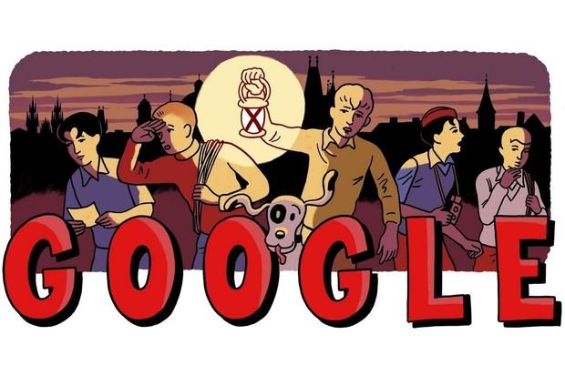 Google slaví 80 let Rychlých šípů slavnostním Doodlem