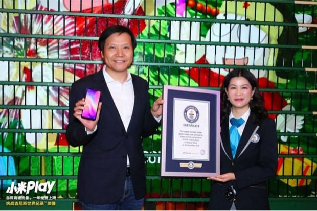 Včera představené Xiaomi Mi Play se již stihlo zapsat do Guinessovy knihy rekordů