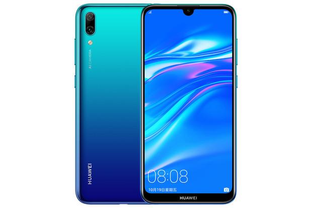 Huawei Y7 Pro 2019 je nižší třídou s obřím displejem a Snapdragonem 450