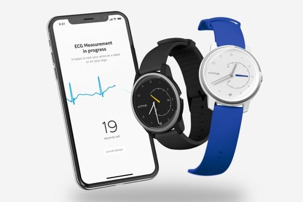 Withings Move ECG jsou první hybridní hodinky se zabudovaným EKG