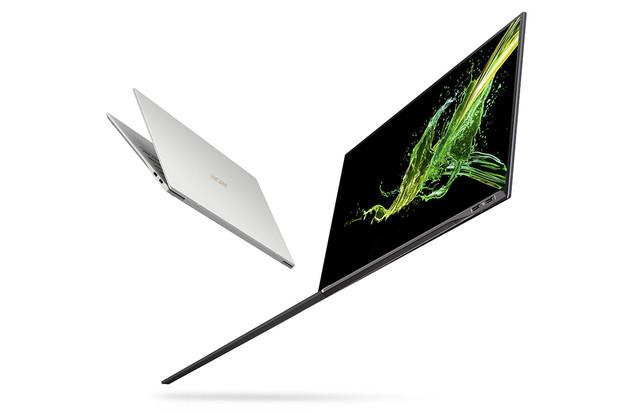 Acer Swift 7 opět boří hranice. Displej nemá rámečky a neváží ani kilo