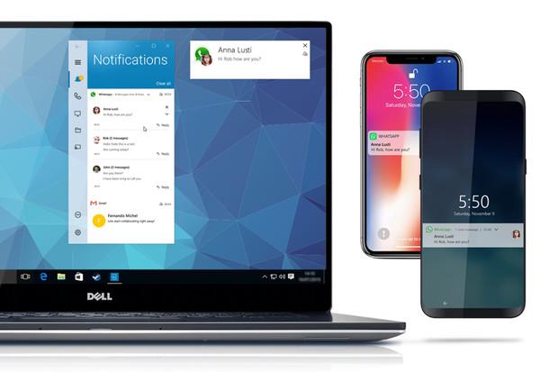 S Dell Mobile Connect nově můžete přijímat notifikace i z virtuální reality