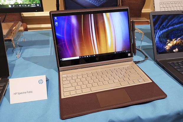 Kožený HP Spectre Folio získal novou barvu a 4K displej