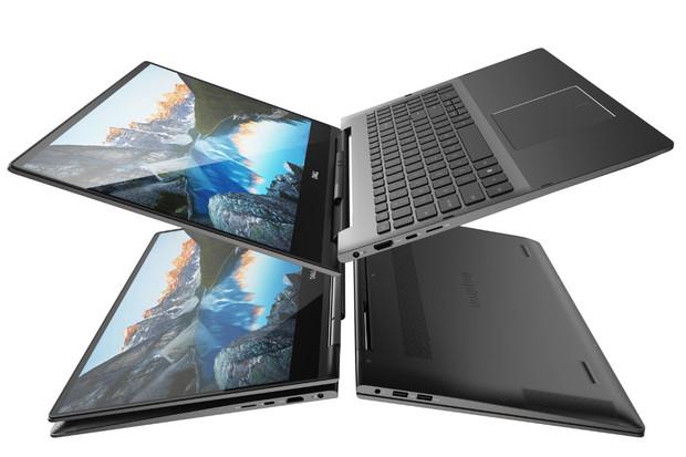 Dvojice konvertiblů Dell Inspiron 7000 představuje chytrý pant s perem Active Pen
