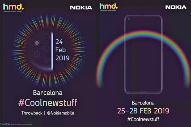 """Na veletrhu MWC 2019 se pravděpodobně ukáže také Nokia s """"dírou"""" v displeji"""