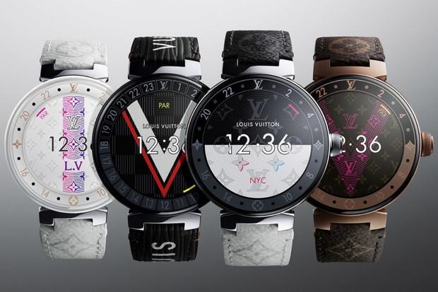 Hodinky Louis Vuitton jsou nejen prémiové, ale i výkonné! Uvnitř tiká Wear 3100