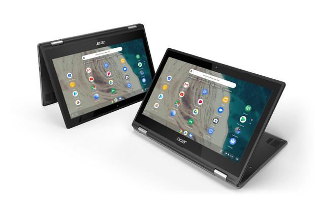 """Acer na veletrhu BETT představil nové 11,6"""" Chromebooky"""