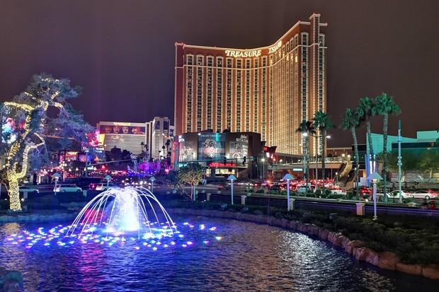 S Huawei Mate 20 Pro v Las Vegas. Podívejte se, jak fotí