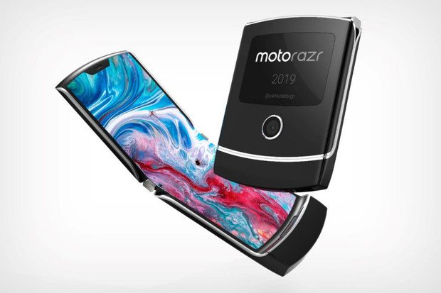 Ohebná Motorola RAZR na to jde jinak. Specifikace však zanechávají rozporuplný pocit