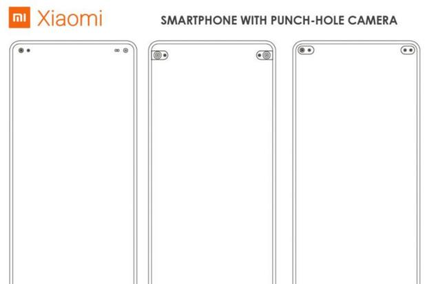 Když jedna není dost. Xiaomi si nechalo patentovat hned několik děr v displeji