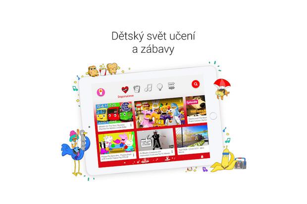 Skvělá zpráva pro děti i rodiče: YouTube Kids dorazilo do Česka