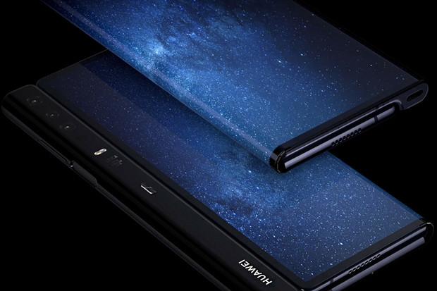 Huawei se ohne také. Představil smartphone Mate X s 8palcovým displejem