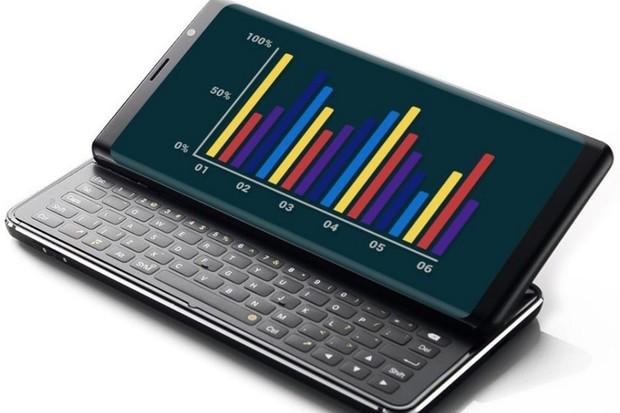 Telefon s vysouvací klávesnicí už má název i cenovku