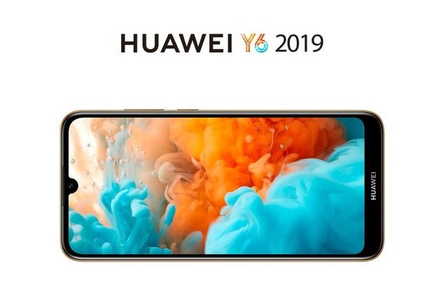 Huawei Y6 2019 přichází. Má 6palcový displej, malý výřez a 3GB RAM