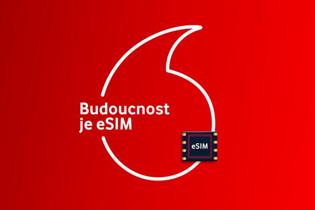 Ode dneška mohou zákazníci Vodafonu používat eSIM
