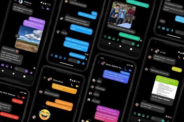 Tmavý režim oficiálně dorazí do Facebook Messengeru