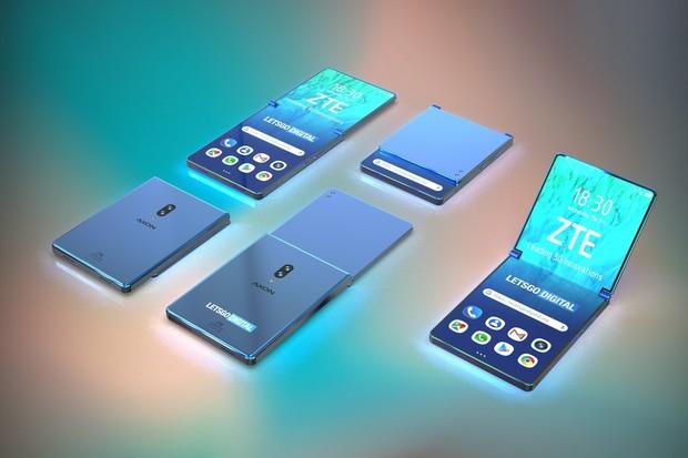 Patent ZTE poodhaluje skládací smartphone ve stylu véčka