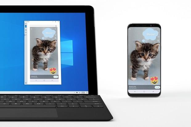 Windows 10 se naučí zrcadlit obrazovku Androidu