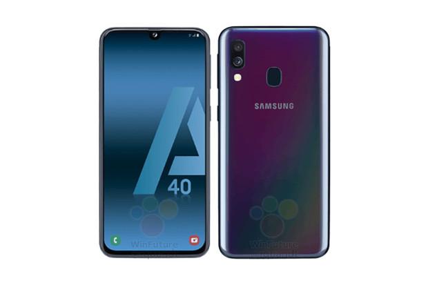 Další slušná střední třída? Samsung Galaxy A40 bude mít AMOLED displej