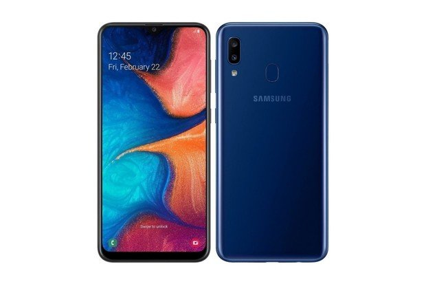 Nový Samsung Galaxy A20 má velký displej i slušnou baterii