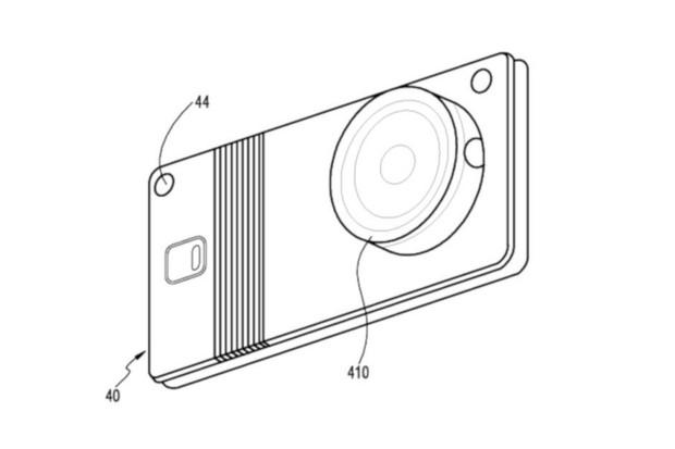 Připravuje Samsung ohebný telefon s vyměnitelným objektivem? Nákresy hovoří jasně
