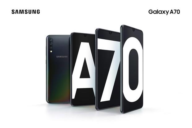 Samsung Galaxy A70 je obr mířící na český trh. Má hned tři fotoaparáty