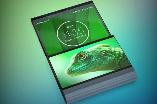 Lenovo si patentuje svůj vlastní ohebný telefon s masivním kloubem