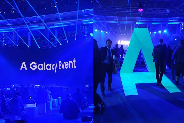 Samsung v Miláně představil zcela novou řadu telefonů střední třídy