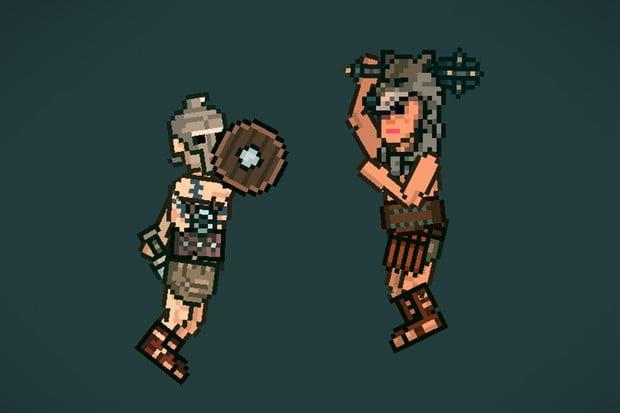 Hopsající gladiátoři, vrhání nožů a další skvělé hry zdarma