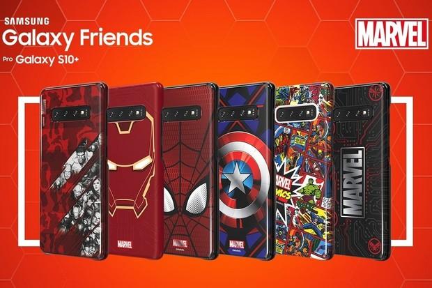Fanoušci Marvelu pozor, pouzdra pro řadu S10 změní vzhled a automaticky i prostředí