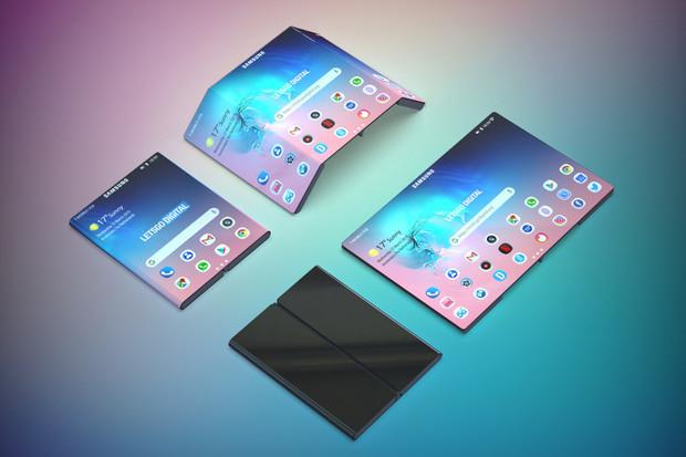 Zavaří Samsung tabletům? Údajně chystá ohebný smartphone s 13palcovým displejem