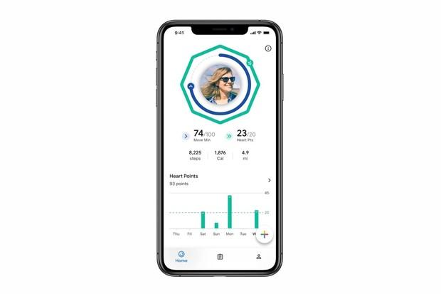Fitness aplikace Google Fit se po letech dostala také na iOS