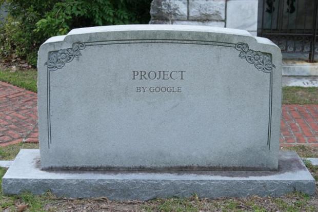 Řbitov gůglích projektů