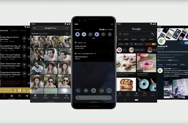 Android Q se zahalí do černé a bude bránit vaše soukromí