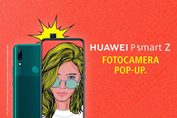 Huawei P Smart Z je střední třídou s výsuvnou selfie kamerkou