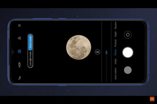 """Zachyťte Lunu. Fotoaparát Xiaomi Mi 9 SE nově podporuje """"měsíční"""" režim"""