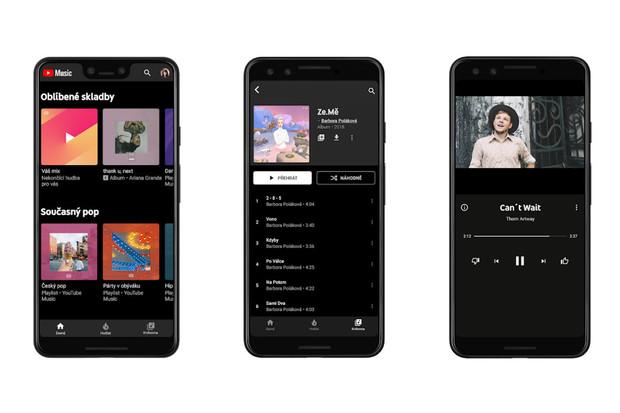 Má se Spotify začít strachovat? YouTube Music a YouTube Premium konečně v Česku