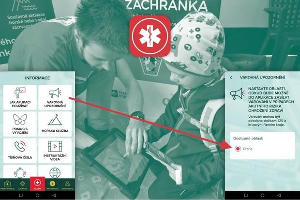 Brno bude obyvatele v krizových situacích varovat pomocí aplikace Záchranka