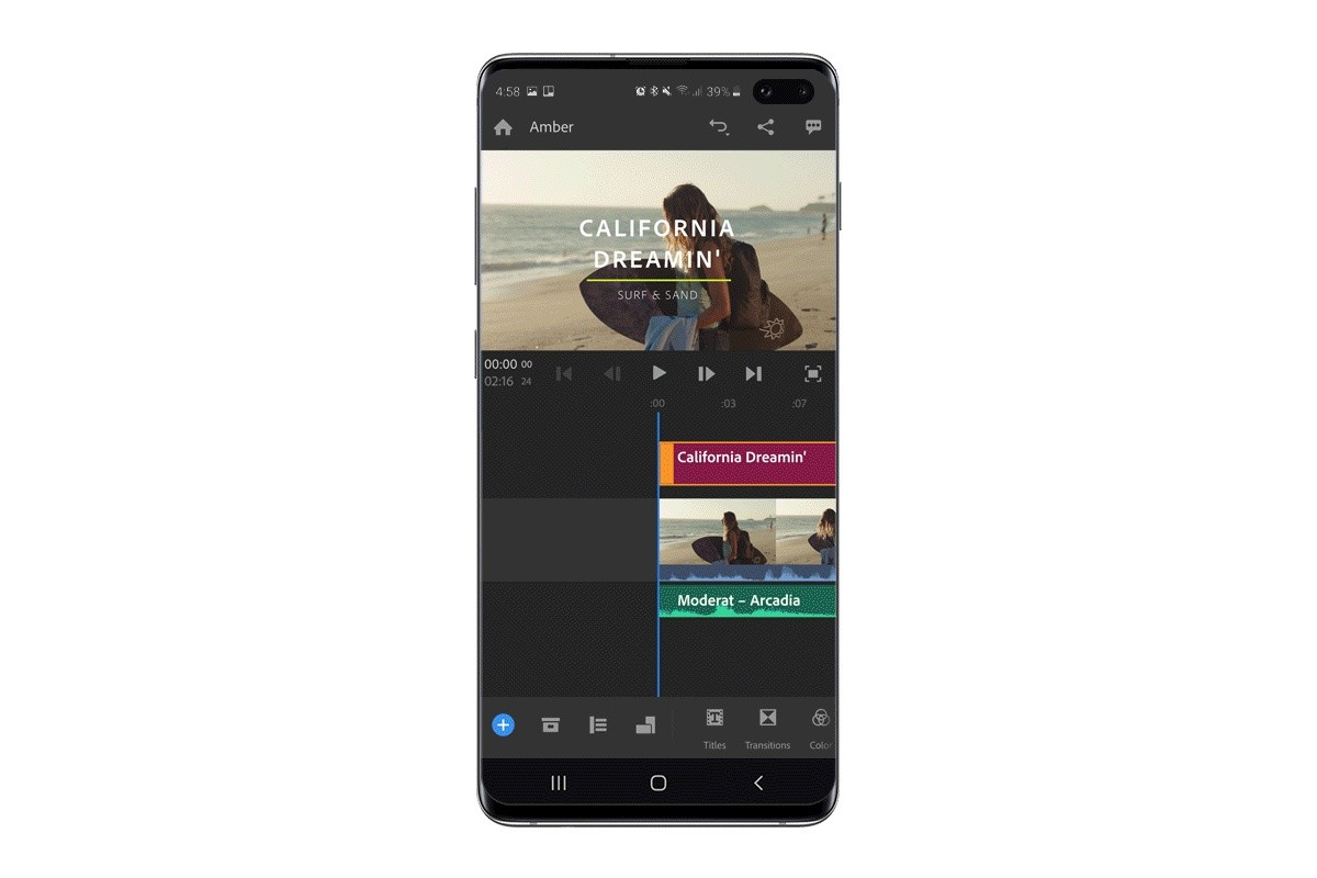 Samsung uvedl videoeditor Adobe Premiere Rush optimalizovaný pro modely Galaxy