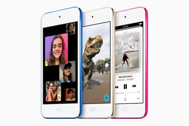 Apple v tichosti představil novou generaci iPodu Touch s čipsetem Apple A10 Fusion