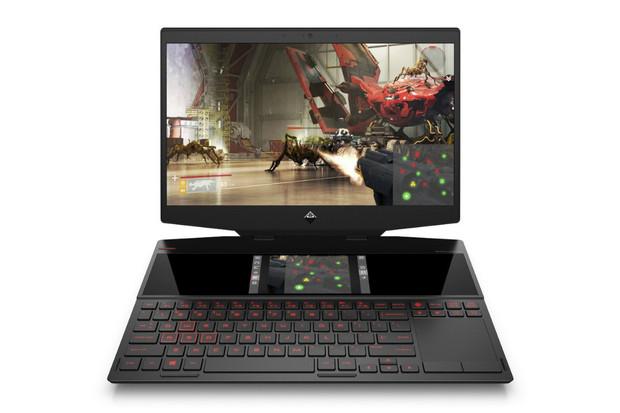 HP nám naživo ukázal první herní notebook se dvěma displeji na světě