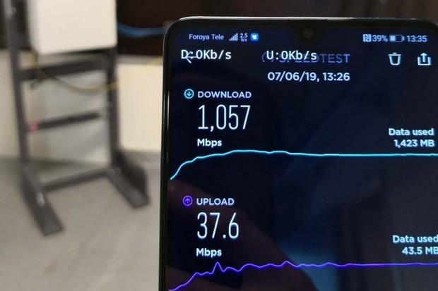Huawei úspěšně dokončil testování 5G na Faerských ostrovech