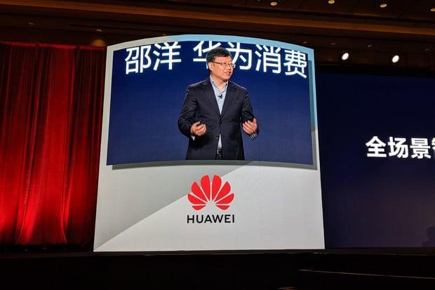 """""""Ti, kteří nemají kuráž, se neposunou,"""" prohlásil Richard Yu na CES Asia 2019"""