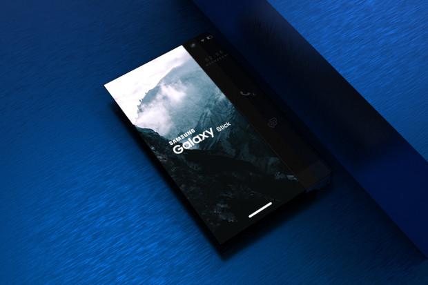 Jak by mohl vypadat telefon s rolovatelným displejem?