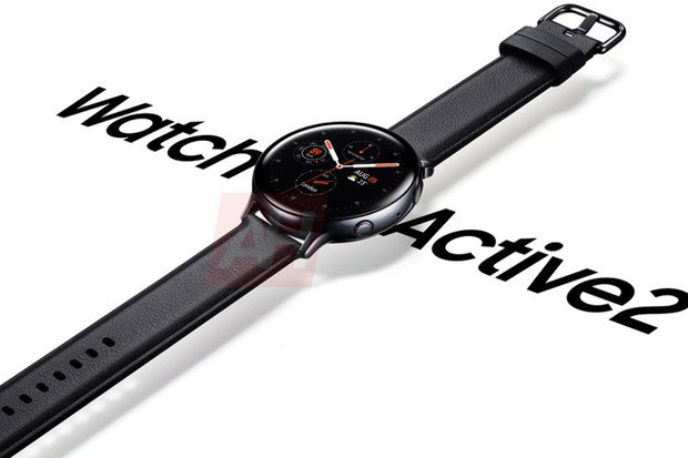 Na internet unikly nové rendery hodinek Samsung Galaxy Watch Active 2