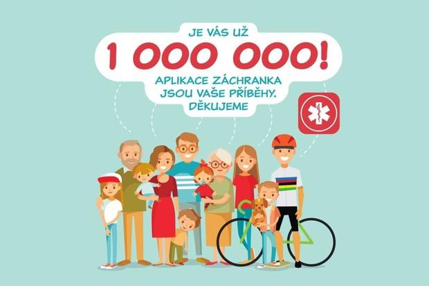 Výborná zpráva, aplikace Záchranka se chlubí již 1miliónem uživatelů