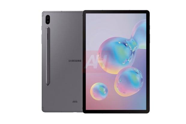 Špičkový Samsung Galaxy Tab S6 uniká na dalších obrázcích